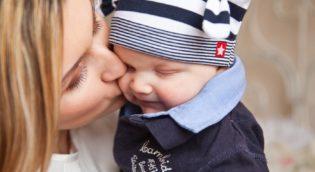 Mutter-mit-Baby
